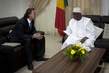 MINUSMA Head Meets President of Mali 7.241261