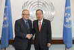 Secretary-General Meets Former President of Finland 2.8623128