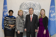 Secretary-General Meets Former US Secretary of State 2.8623128