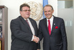 Deputy Secretary-General Meets Foreign Minister of Lithuania 7.251074