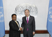 Secretary-General Meets Youth Minister of Sri Lanka 2.8636785
