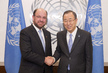 Secretary-General Meets Foreign Minister of Chile 2.8636785