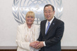 Secretary-General Meets Nobel Laureate Betty Williams 2.8636785