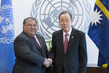 Secretary-General Meets President of Nauru 2.8644226
