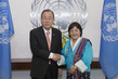 Secretary-General Meets New Permanent Representative of Bhutan 2.8638463