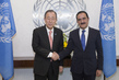 Secretary-General Meets New Permanent Representative of Tajikistan 2.8644226