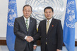 Secretary-General Meets New Permanent Representative of DPRK 2.8623128
