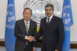 Secretary-General Meets New Permanent Representative of Cabo Verde 2.8623128