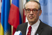 Deputy Secretary-General Jan Eliasson Briefs Press on Ukraine 1.2360325