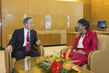Secretary-General Meets Human Rrights Commissioner 3.7650352
