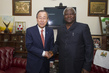 Secretary-General Meets President of Sierra Leone 3.7652352
