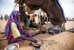 Thousands of Sudanese Displaced, Fleeing Violence in Darfur 4.4393587