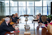 Secretary-General Meets with UNAIDS Director and Special Envoys 2.864213