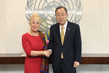 Secretary-General Meets with Head of CEDAW 2.8638463