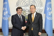 Secretary-General Meets Turkish Foreign Minister 2.864213