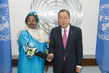 Secretary-General Meets Women and Human Rights Minister of Somalia 2.8645122