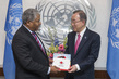 Secretary-General Meets Senior Vice President of American Red Cross 2.8653054