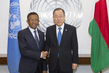 Secretary-General Meets President of Madagascar 2.8644226