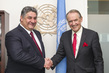 Deputy Secretary-General Meets with Azerbaijani Minister of Youth and Sports 7.2442093
