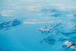 Ice Cap in Greenland, Viewed from Plane 8.309513
