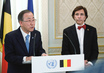 Secretary-General Meets Prime Minister of Belgium 3.2102137