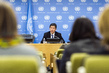 DPRK Representative Holds Press Conference 3.211068