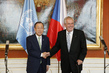 Secretary-General Meets President of Czech Republic in Prague 2.2916272