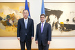 Secretary-General Meets Head of Inter-American Development Bank 1.0
