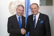 Deputy Secretary-General Meets Development Minister of Finland 0.037114754