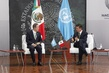 Secretary-General Meets President of Mexico 0.04639344