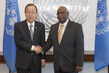 Secretary-General Meets New Permanent Representative of Sudan 2.8644226