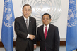 Secretary-General Meets New Representative of Lao People's Democratic Republic 2.8644226