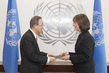 New Permanent Observer of Inter-Parliamentary Union Presents Credentials 1.0