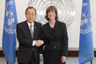 Secretary-General Meets New Permanent Observer of IPU 0.3906564