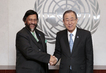 Secretary-General Meets Head of Climate Change Panel 0.3906564