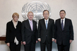 Secretary-General Meets DPRK Commission of Inquiry