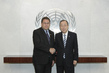 Secretary-General Meets Mayor of Montreux