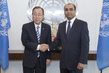 Secretary-General Meets New Permanent Representative of Uzbekistan 2.8652601