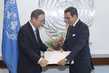 New Permanent Representative of Morocco Presents Credentials 1.0
