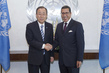 Secretary-General Meets New Permanent Representative of Morocco