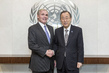 Secretary-General Meets Special Envoy for Malaria and Health-related MDGs 1.0