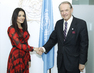 Deputy Secretary-General Meets UN Equality Champion 0.7136486