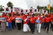 Rally in Lagos for Rescue of Abducted Nigerian Girls 12.112431