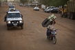 MINUSMA Police Unit on Patrol in Gao, Mali 4.6589174