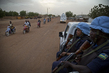 MINUSMA Police Unit on Patrol in Gao, Mali 1.5598048