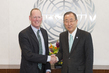 Secretary-General Meets Special Advisor for Community-based Medicine in Haiti 0.959351