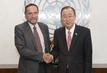 Secretary-General Meets President of Rwanda Tribunal 1.3925973