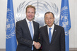 Secretary-General Meets Foreign Minister of Norway 2.8601277