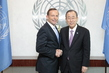 Secretary-General Meets Prime Minister of Australia 2.8601277