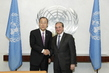 Secretary-General Meets New Permanent Representative of Armenia 2.8601277